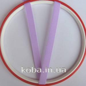 Бретели 12 мм сиреневого цвета