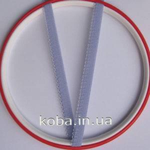 Тесьма резинка голубого цвета 9 мм