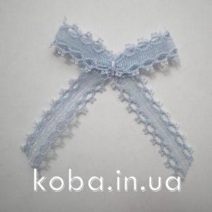 Бантик голубого цвета