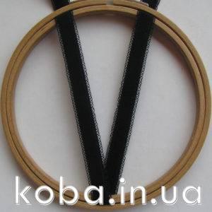 Бретели 12 мм черного цвета