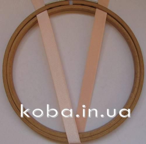 Бретели персикового цвета шириной 12 мм