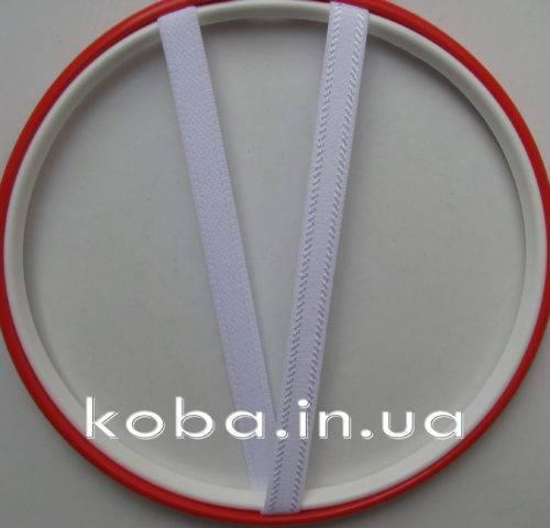 Бретели белого цвета шириной 10 мм