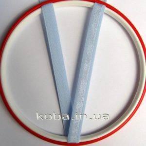 Бретели голубого цвета шириной 12 мм