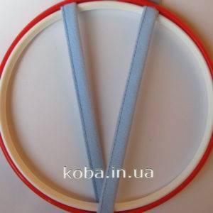 Туннельная лента голубого цвета, одношовная